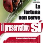 Manifesto Arcigay il preservativo sì